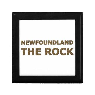 THE ROCK NEWFOUNDLAND TRINKET BOXES