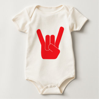 The Rock Sign Baby Bodysuit