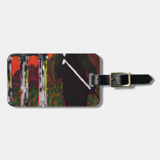 The Rock Singer Luggage Tag