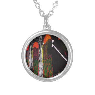 The Rock Singer Silver Plated Necklace
