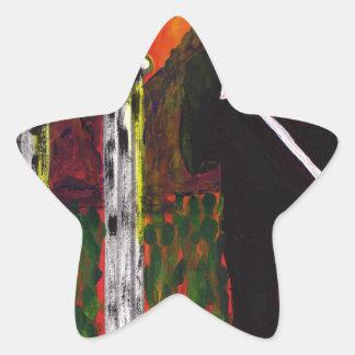 The Rock Singer Star Sticker