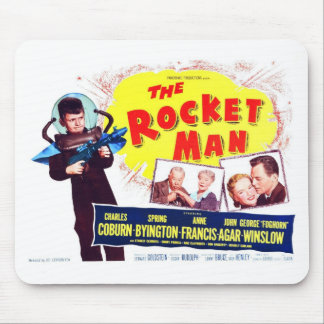 The Rocket Man Mousepad
