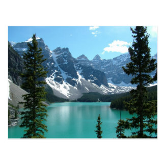 The Rockies - Moraine Lake Postcard