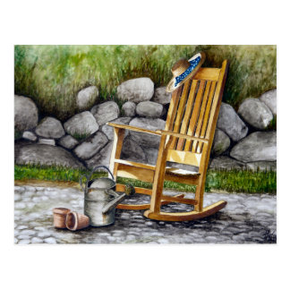 The Rocking Chair Postcard