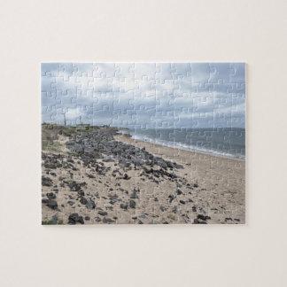 The Rocky Beaches of Montauk, Long Island, NY Jigsaw Puzzle