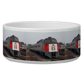 The Roger Williams Train Set Dog Water Bowls