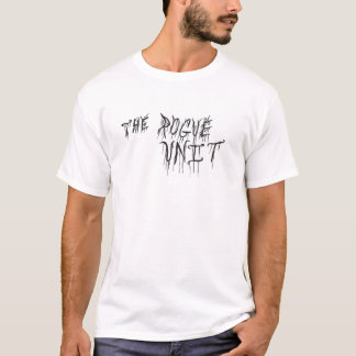 """The Rogue Unit"" White T-shirt by Chuck Swaim"