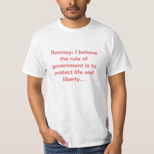 The role of government T-Shirt