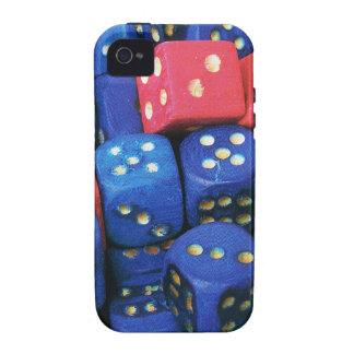The roll of a dice iPhone 4/4S case