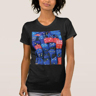 The roll of a dice t shirt