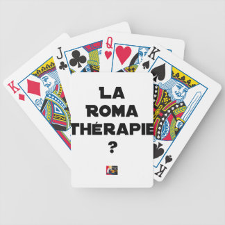 THE ROMA THERAPY? - Word games - François City Bicycle Playing Cards