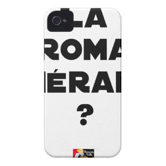 THE ROMA THERAPY? - Word games - François City Case-Mate iPhone 4 Case