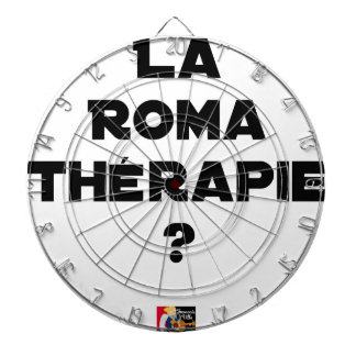 THE ROMA THERAPY? - Word games - François City Dartboard