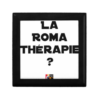 THE ROMA THERAPY? - Word games - François City Gift Box