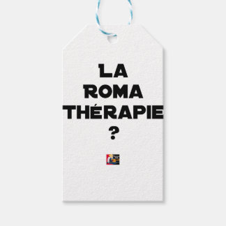 THE ROMA THERAPY? - Word games - François City Gift Tags