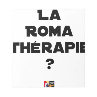 THE ROMA THERAPY? - Word games - François City Notepad