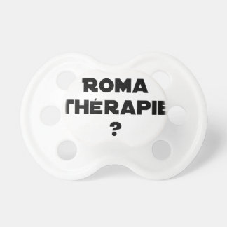 THE ROMA THERAPY? - Word games - François City Pacifier