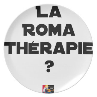 THE ROMA THERAPY? - Word games - François City Plate