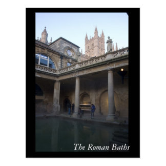 The Roman Baths, Bath, England Postcard