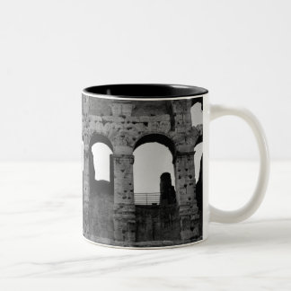 The Roman Colosseum Two-Tone Coffee Mug