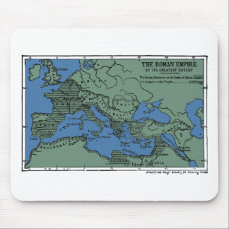 The Roman Empire At Its Greatest Extent Mouse Pad