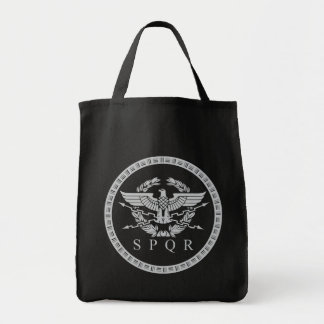 The Roman Empire Emblem Tote Bag.