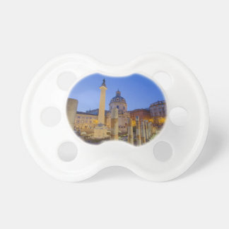 The Roman Forum in Rome Baby Pacifiers