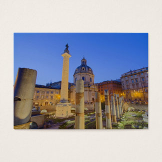 The Roman Forum in Rome Business Card
