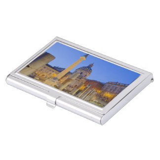 The Roman Forum in Rome Business Card Holder
