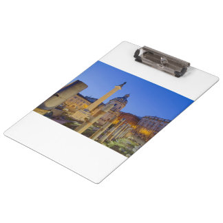 The Roman Forum in Rome Clipboard
