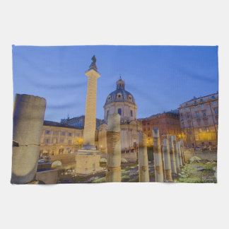 The Roman Forum in Rome Towels