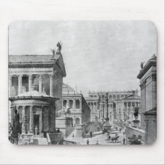 The Roman Forum of Antiquity, 1914 Mouse Pad