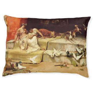 The Roman Maidens by Juan Luna. Pet Bed