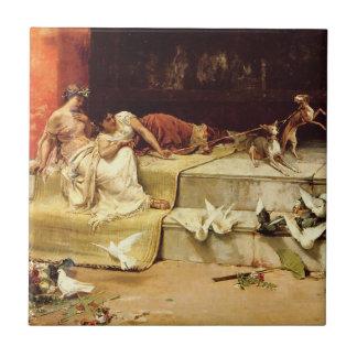 The Roman Maidens by Juan Luna. Tile