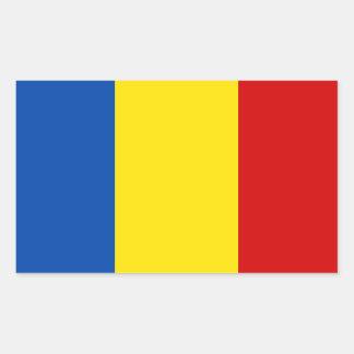 The Romanian Flag Sticker