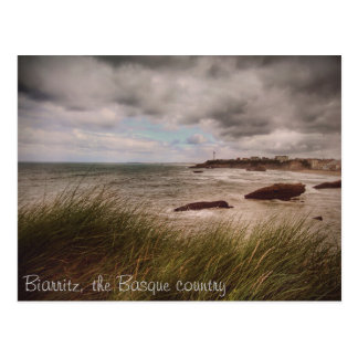 The Romantic Biarritz Postcard