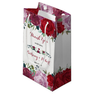 The Romantic Floral Wedding Collection Small Gift Bag