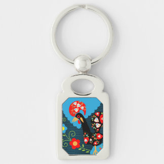 The Rooster of Portugal Keychain