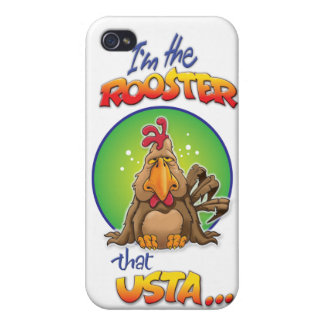 The Rooster that Usta iPhone 4/4S Cases
