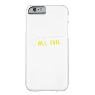 The Root Funny Math Shirts Barely There iPhone 6 Case