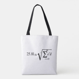 The Root of all Evil Tote Bag