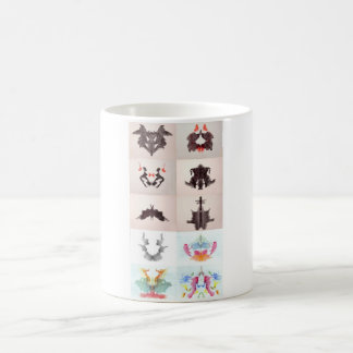 The Rorschach Test Ink Blots All 10 Plates 1-10 Basic White Mug
