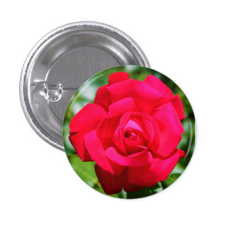 The Rose 1 Inch Round Button