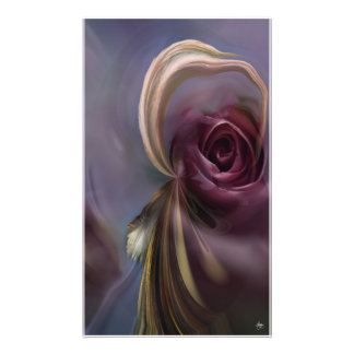 The Rose and the Headdress Open Edition Print