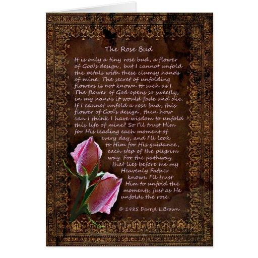 The Rose Bud Card