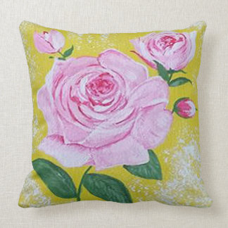 The Rose Large Pillow