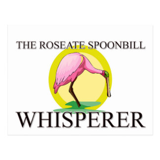 The Roseate Spoonbill Whisperer Postcard