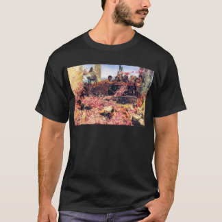 The_Roses_of_Heliogabalus - Lawrence Alma-Tadema.j T-Shirt