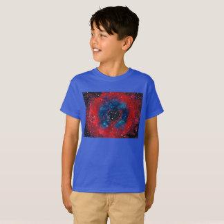 The Rosette Nebula, kids' tagless t-shirt