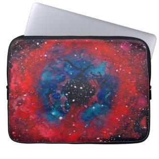 The Rosette Nebula laptop sleeve